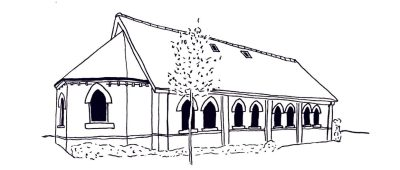 The Chapel building in Eversley Park, Sandgate, Folkestone, Kent